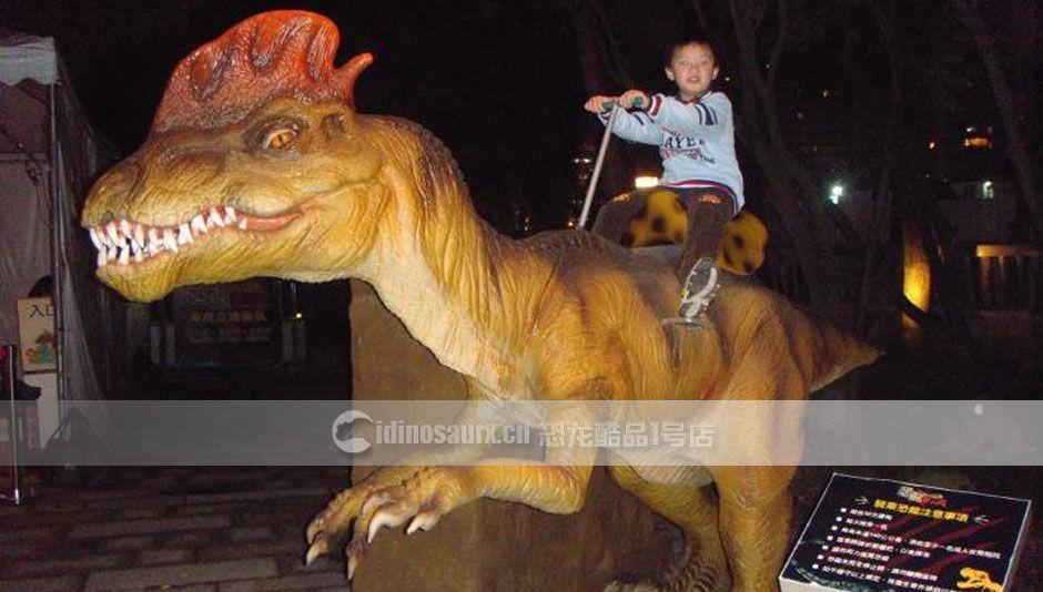 儿童恐龙骑乘设备