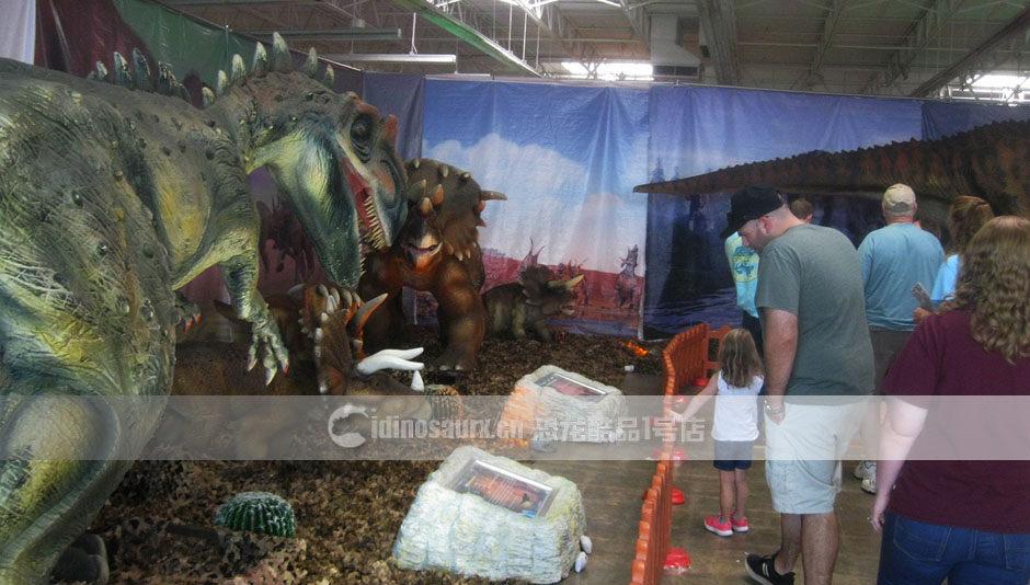 商场恐龙秀制作