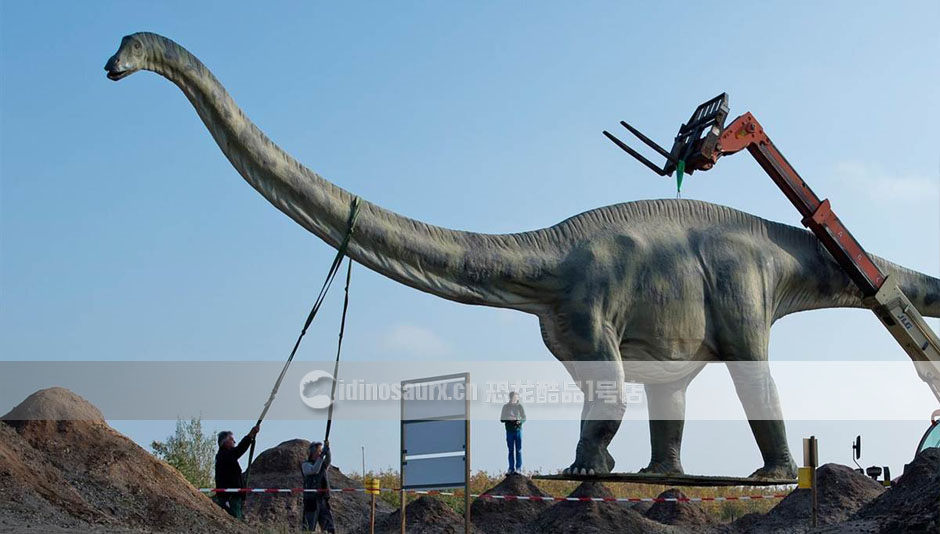 恐龙雕塑制作工厂