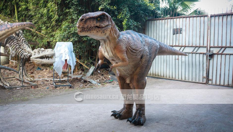 穿戴恐龙服制作