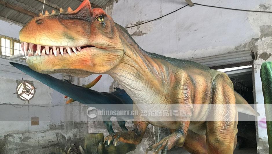 食肉恐龙模型