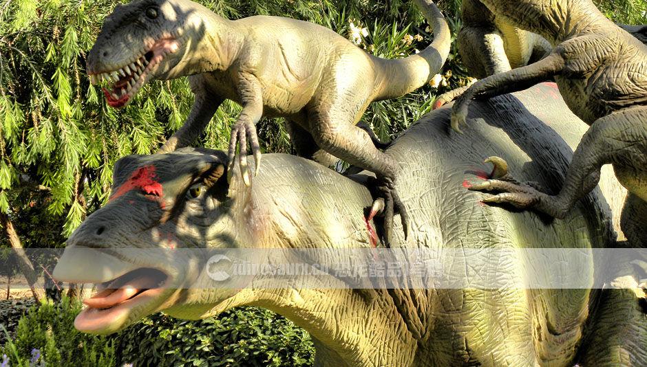 儿童乐园仿真恐龙