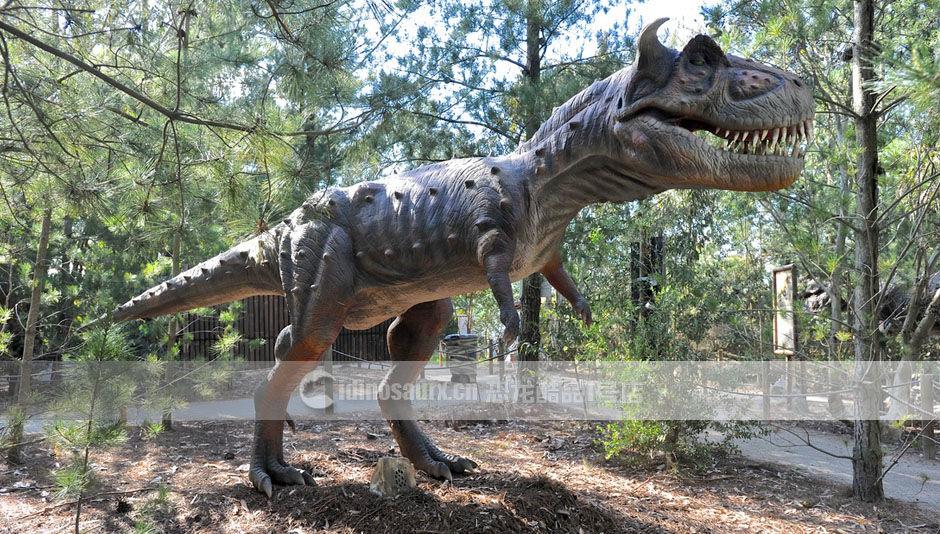 制作游乐园恐龙