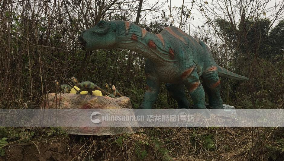 景区恐龙模型制作
