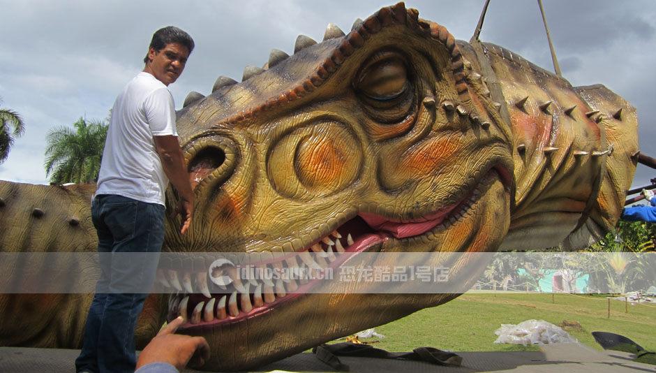 定制巨型电动恐龙模型的特性