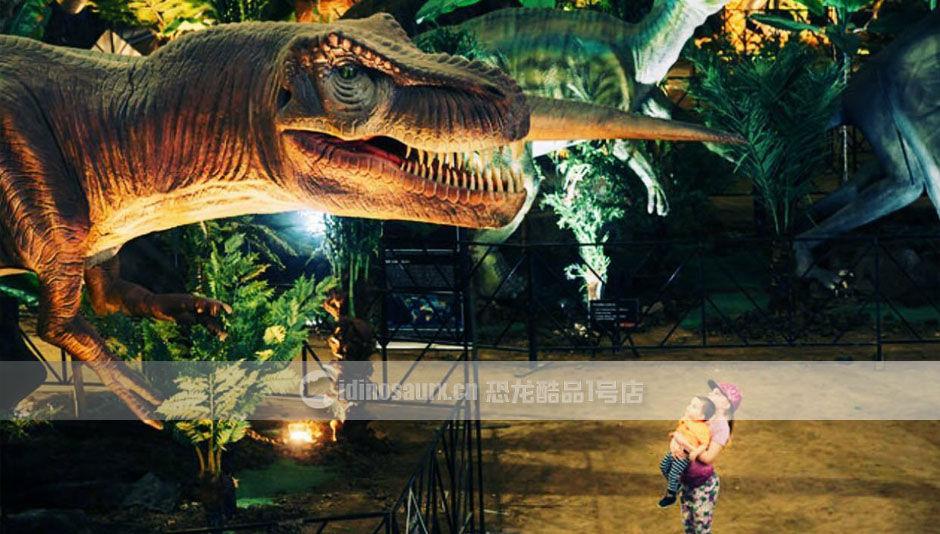 美陈恐龙展品