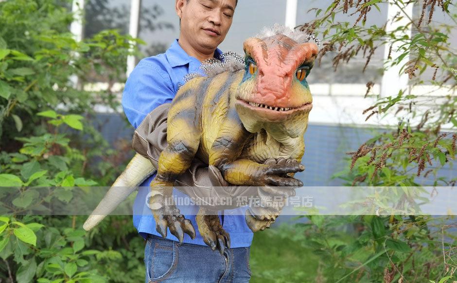 仿真小恐龙道具