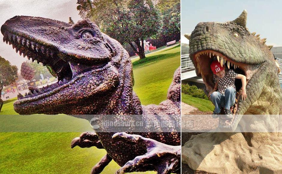 仿真恐龙景观装饰