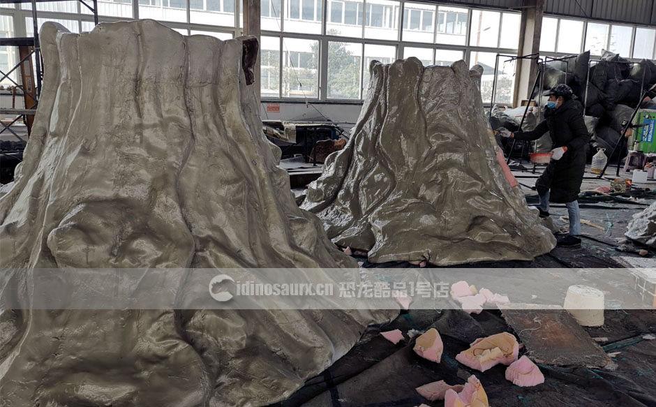 冰川时代冰山雕塑制作