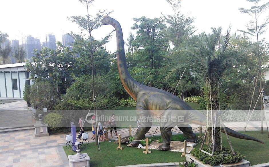 真实尺寸仿真恐龙模型