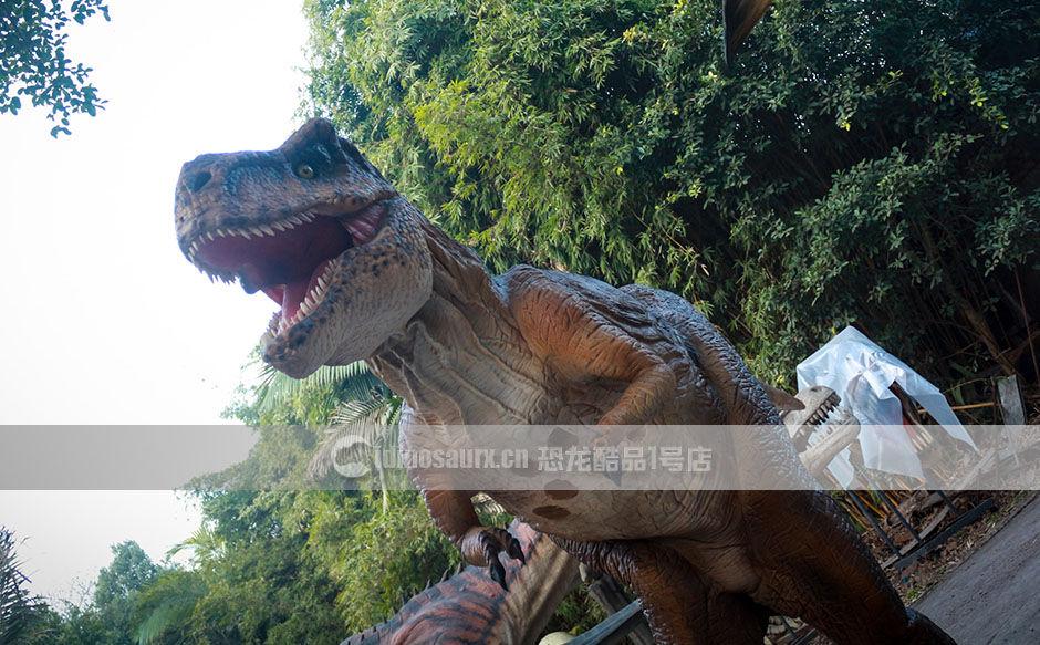 出口的仿真恐龙道具服