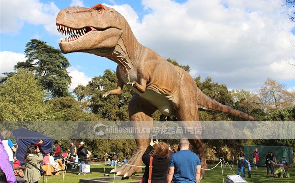 户外仿真恐龙模型展示