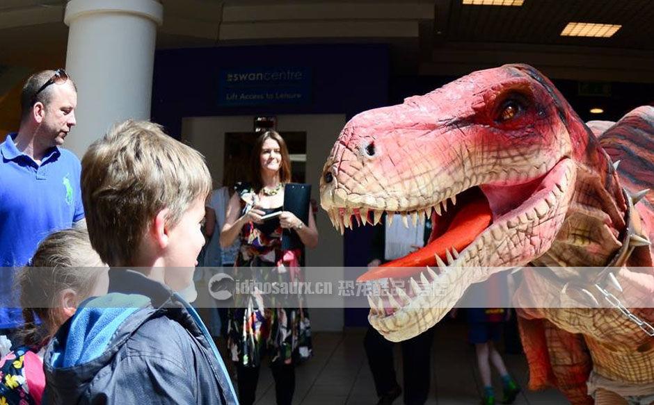 商场恐龙展打造