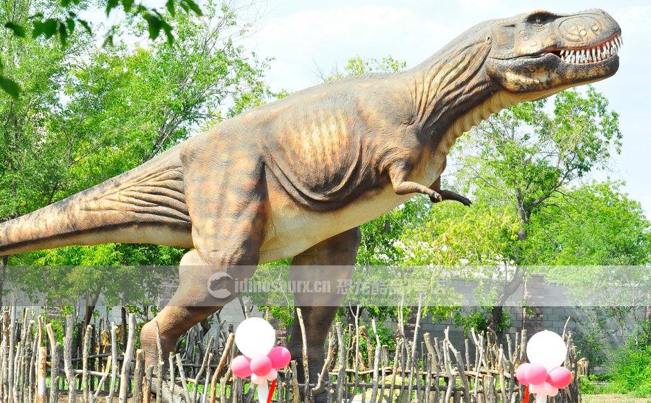 户外仿真恐龙装饰雕塑