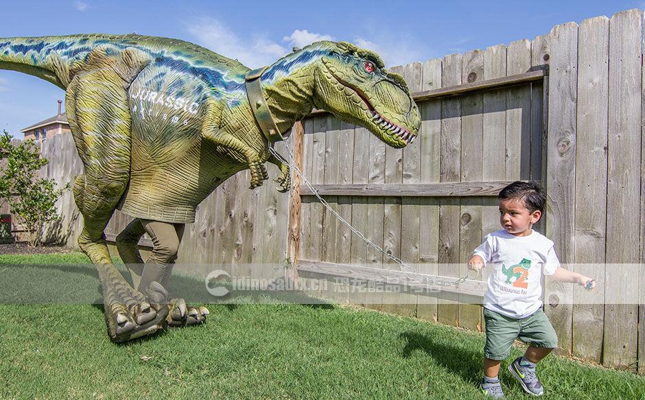个性化带LOGO的恐龙服