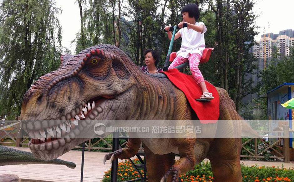 电动恐龙骑士骑坐设备