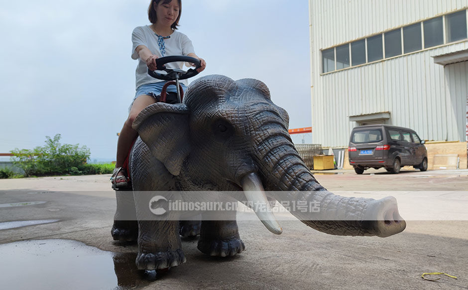 互动电子动物骑乘