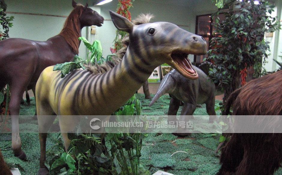 冰川时代三趾马模型