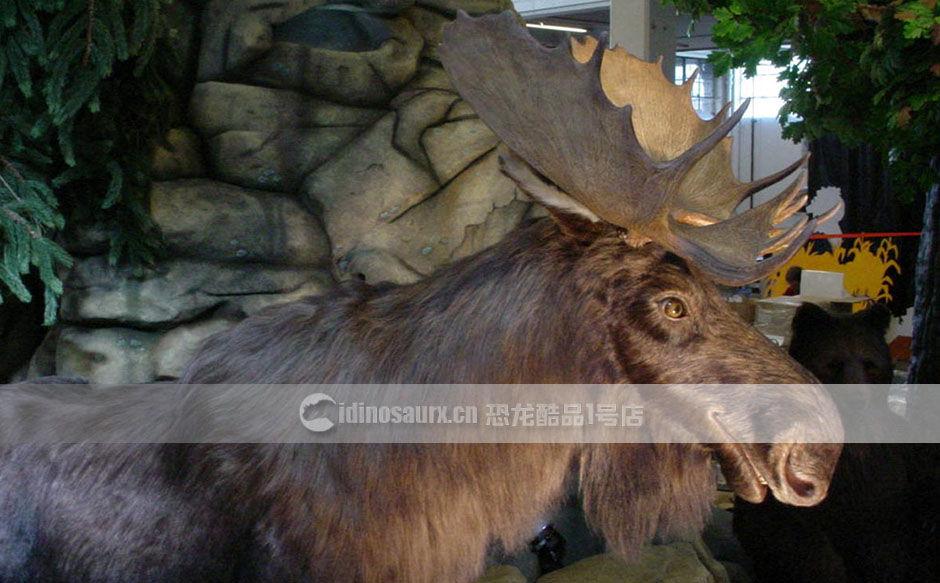 动物主题雕塑装饰
