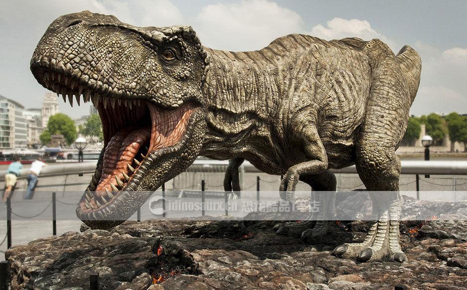 户外玻璃钢恐龙雕塑