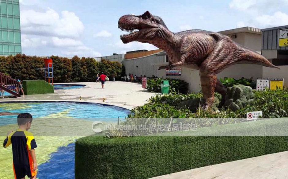 海螺湾景区仿真恐龙装饰